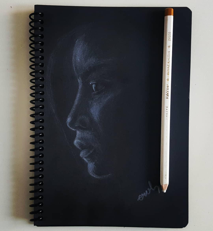 beyaz kalem